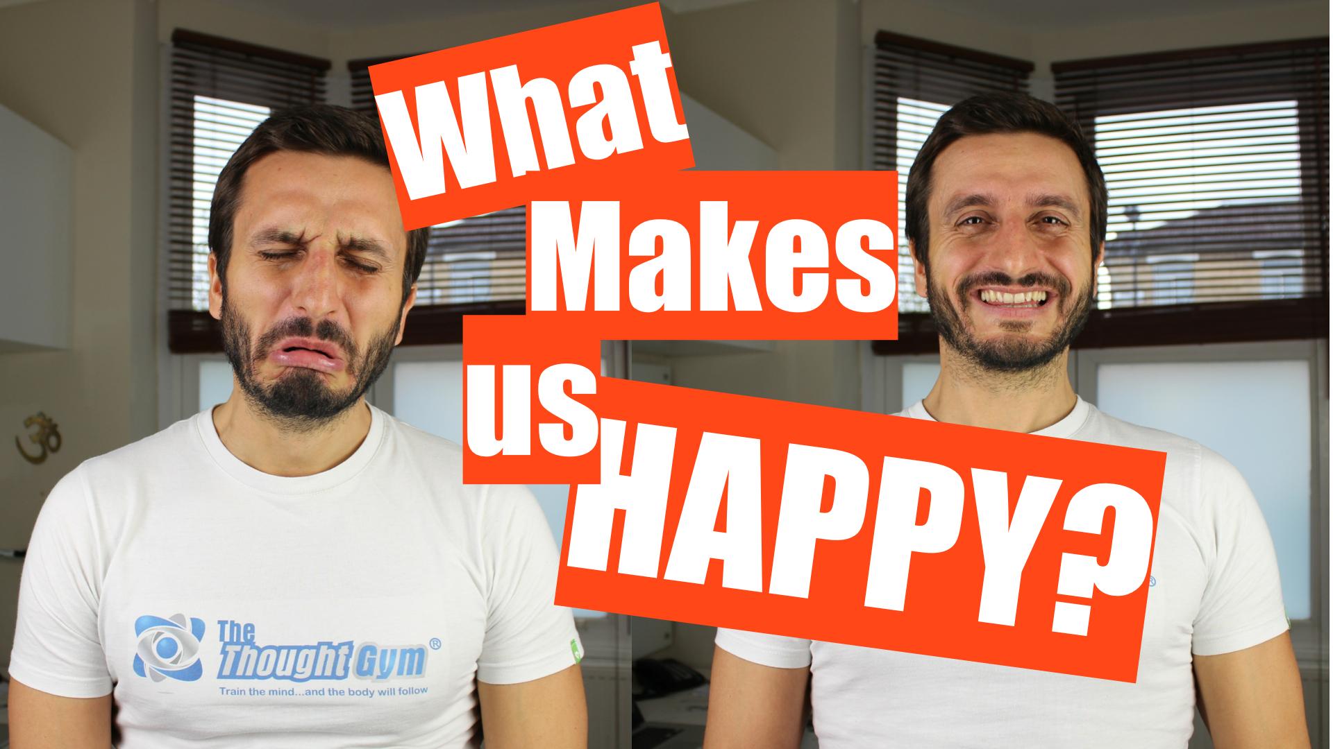 What makes us happy