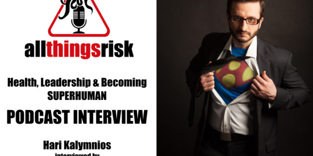 All Things Risk Podcast | Hari Kalymnios | The Thought Gym