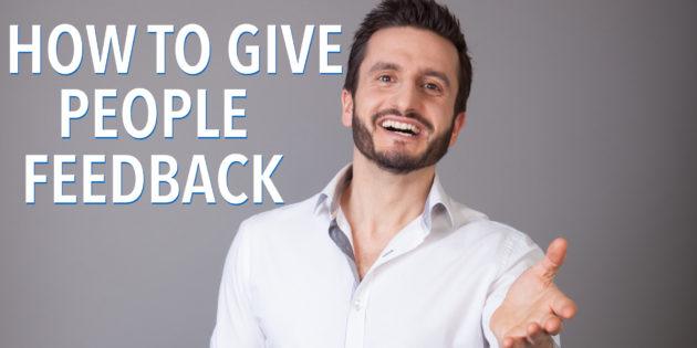 Giving Feedback | Hari Kalymnios | The Thought Gym