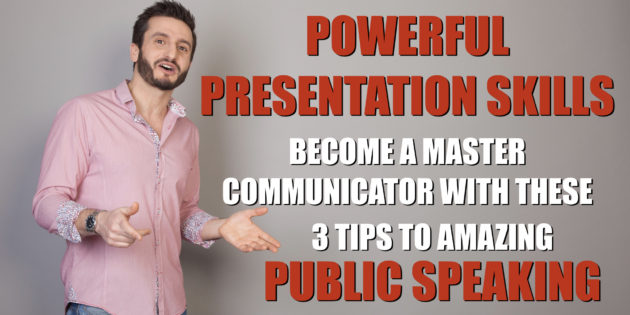 Presentation Skills | Hari Kalymnios | The Thought Gym