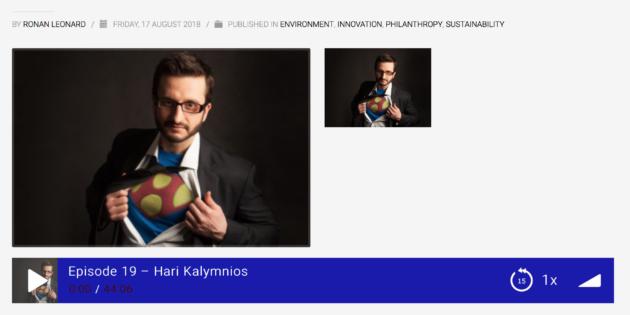 Hari Kalymnios - Noble Founder Podcast